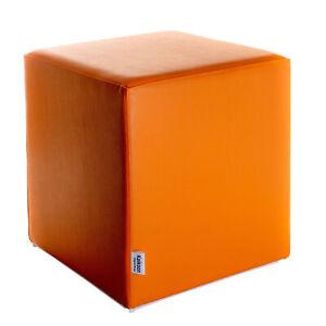Sitzwürfel Orange Maße: 39 cm x 39 cm x 44 cm