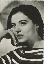 Marisa Pavan Vintage silver print Tirage argentique  9x14  Circa 1955