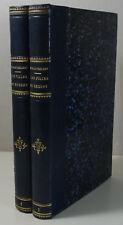 E. de Barthélemy - Les Filles du Régent 2/2 EO 1874 Firmin-Didot reliés