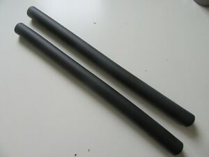 Pair of Extra Long Silicon Grips for Jones Bars etc 540mm. Black NEW (2740)