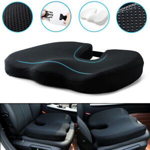 Universal Memory Foam Car Front Seat Cushion Office Chair Soft Breathable Pad
