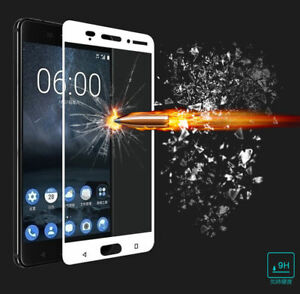 9H Premium Full Cover Tempered Glass Screen Protector Film For Nokia 3 5 6 7 8