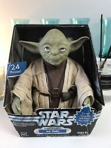 Star Wars Trilogy Collection Talking YODA in original Box. 2004 Hasbro.
