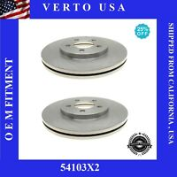 Front Brake Rotors For Ford Crown Victoria 2003-2004-2005-2006-2007 to 2011