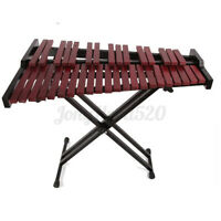 37 Key Wooden Xylophone with Mallets Board Stand Bag Percussion Instrument Gift