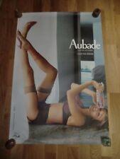 AUBADE Advertising Colour Poster 93cm x 63cm Sexy Lingerie Nude, Légende