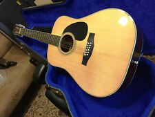 Suzuki Three S F250 Acoustic Guitar 12 String Japan Early 1970s/OEM hardcase