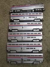 O Gauge Amtrak P42 Diesel Locomotive w/5 Superliner Passenger cars by Williams