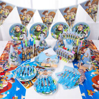 Disney Toy Story Buzz Light Year Birthday Party Supplies Tableware Decorations