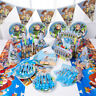 Disney Toy Story Buzz Light Year Birthday Party Supplies Tableware Decoration UK