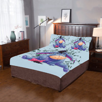 Eeyore The Donkey 3-Pieces Bedding Set 2 Pillowcases And 1 Quilt Cover