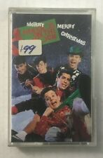 """New Kids On The Block """"Merry Merry Christmas"""" Tape Cassette - Never Been Played"""