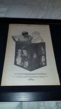 Flintstones, Hazel Rare Original 1968 Screen Gems Promo Poster Ad Framed!