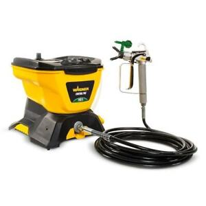 Paint Sprayer Control Pro 130 Electric Stationary Airless Spill Resistant Lid