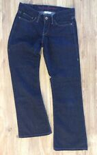 LEVI'S  Ultra Low Boot Cut 522 - Women's Size 4M / W27 - Dark Wash Denim Jeans