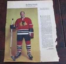 Bobby Hull # 12 issue Weekend Magazine Photos 1963 -1964 Toronto Star