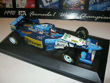 1:18 BENETTON RENAULT B195 M.Schumacher 1995 full tabacco in brandnew showcase