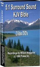 5.1 Surround Sound Audio Bible KJV (2) DVDs 75Hrs