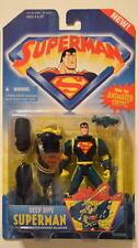 Animated SUPERMAN Action Figure DEEP DIVE SUPERMAN MOC Kenner 1996