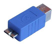Superspeed USB 3.0 Micro B Male to 3.0 Type B Female Converter Adapter AU3MCB-B2