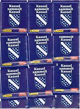 Kassel sammelt Kassel / 25 Tüten / Panini / Sticker
