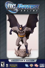DC UNIVERSE ONLINE LIMITED COLLECTOR'S EDITION PC with Batman