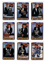 1X TROPHY WINNER SET 1990-91 opc O Pee Chee NMMT Bulk Lot Available GRETZKY ROY
