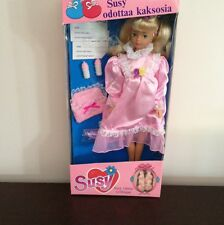 Susy The Pregnant Doll With Twins MISB Fits Barbie Vintage MISB