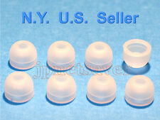 8 Clear White Small Motorola S10-HD, S9-HD, S9 replacement earbuds - Motorokr