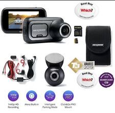nextbase 422gw And Rear Dash Cam Bundle Plus Hardwire Kit, 32gb Sd Card And Case