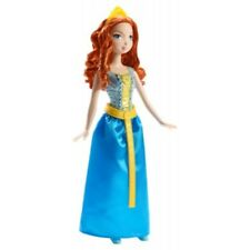 *NEW* Disney sparkling princess brave merida Doll in blue dress