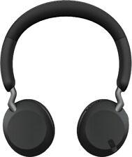 Jabra - Elite 45h Wireless On-Ear Headphones - Titanium Black