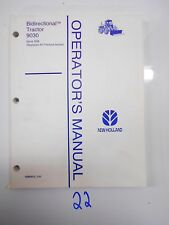 New Holland 9030 Series Tractors Operator's Owner's Manual 42903012  3/96