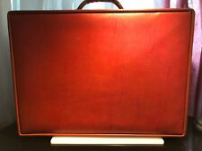 """Beautiful Vintage Hartmann Belting Leather 24""""  Suitcase Brown Leather"""