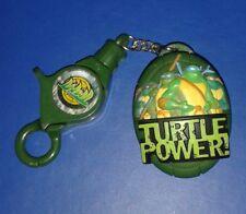 2004 *** *** Llavero Y Reloj Repuestos Tmnt Teenage Mutant Ninja Turtles Tmnt