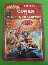 Artima / Arédit  DEMON   ALBUM  N° 3326  comics  pocket CONAN