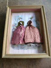 ancien cadre La Mode illustrée habillé Collection