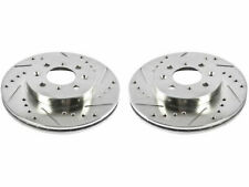 For 2007-2014 Honda Fit Brake Rotor Set Front Power Stop 67968RY 2008 2009 2010
