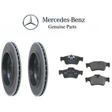 Mercedes W164 GL450 07-12 Genuine Rear Brake Rotors with Pads Brake Kit