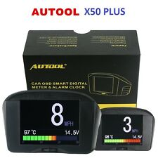 Multi-Function Car OBD Smart Digital & Early Alarm Fault Code Meter Clock Speed