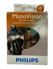 Philips H7 Moto Vision Motorcycle Or Scooters Safety Halogen Headlamp Light