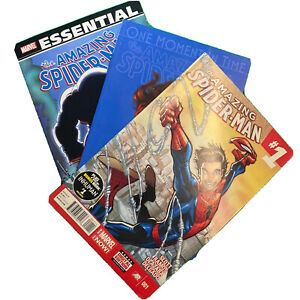 Essential Spider-Man Amazing Spider-man 1 One Moment in Time Lot of 3 Comic Book