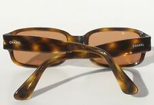 8cb6d161ddcd CHANEL Vintage 5010 502/93 Brown Gold Tortoise Quilted Arm CC Sunglasses  Frames