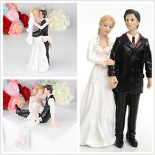 New Reusable Romantic Groom Bride Marry Resin Figurine Wedding Cake Decoration