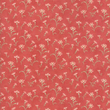 MODA Fabric ~ VICTORIA ~ by 3 Sister's (44163 14) Rouge - by the 1/2 yard