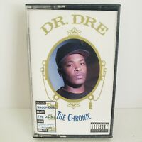 Dr. Dre The Chronic Cassette Tape Vtg Interscope C101241 RARE White tape