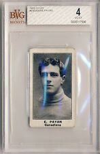 EUGENE PAYAN 1912-13 C57 Imperial Tobacco #9 BVG 4 VG-EX MONTREAL CANADIENS
