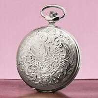 MOLNIJA 3602 Taschenuhr Feuervogel Schar-ptiza Phoenix russische mechanische Uhr