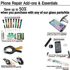 Discounted Glass/Tool/Accessories Upgrade Bundle For Front Back Glass Parts/Kits