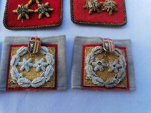 Historische Rangabzeichen Oberösterreich Dienstgrade Feuerwehr Kragenspiegel RAR